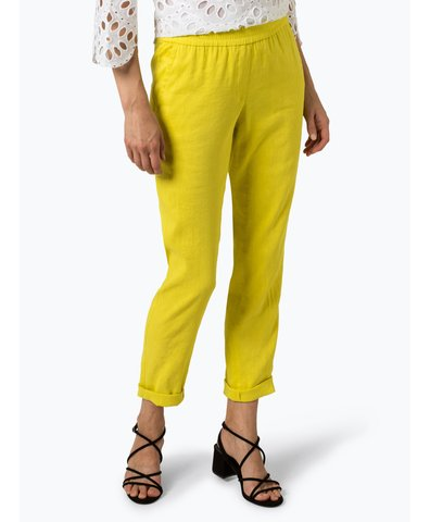Damen Hose mit Leinen-Anteil
