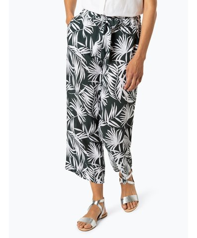 Damen Hose - Wide Leg Tropical
