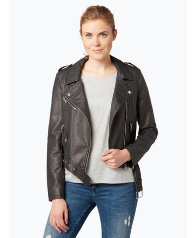Damen Jacke in Leder-Optik - Luna