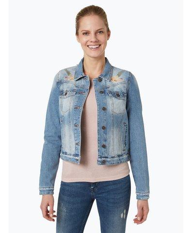 review damen jeansjacke blau uni online kaufen peek und. Black Bedroom Furniture Sets. Home Design Ideas