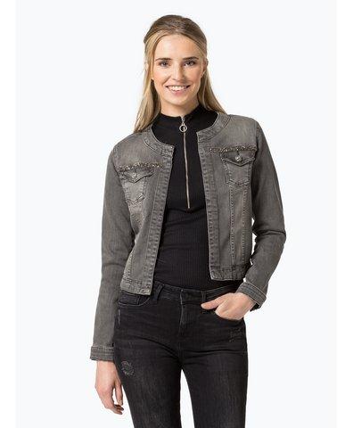 pepe jeans damen jeansjacke grau uni online kaufen. Black Bedroom Furniture Sets. Home Design Ideas