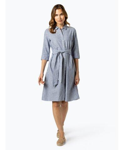 Damen Kleid mit Leinen-Anteil - Wuta