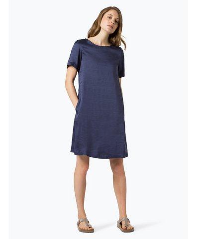 Damen Kleid mit Leinen- und Seiden-Anteil