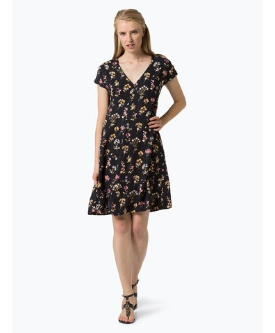 Damen Kleid - Qaskiya print