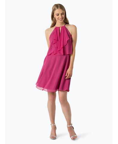 adrianna papell damen kleid pink uni online kaufen peek. Black Bedroom Furniture Sets. Home Design Ideas