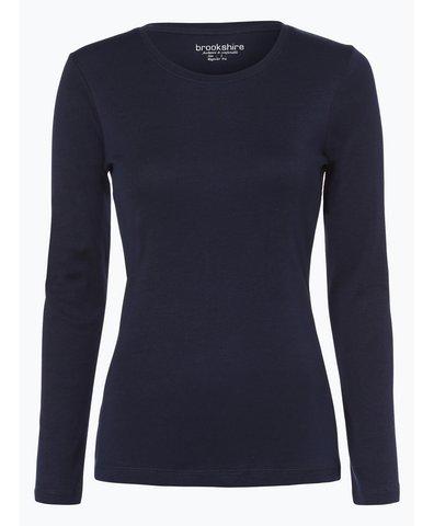 brookshire damen langarmshirt ecru uni online kaufen. Black Bedroom Furniture Sets. Home Design Ideas