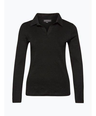 review damen langarmshirt schwarz uni online kaufen peek. Black Bedroom Furniture Sets. Home Design Ideas