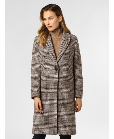 Damen Mantel mit Alpaka-Anteil - Cimentor
