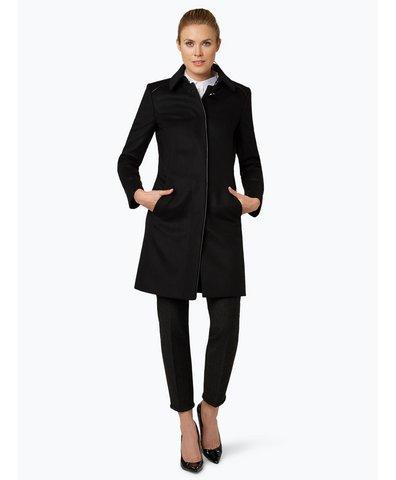 boss damen mantel mit cashmere anteil cosamyna schwarz. Black Bedroom Furniture Sets. Home Design Ideas