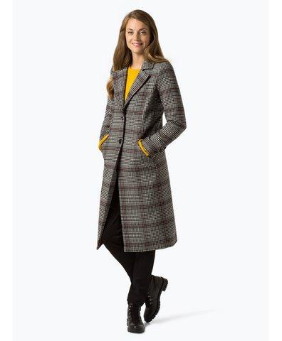 talk about damen mantel anthrazit gemustert online kaufen peek und cloppenburg de. Black Bedroom Furniture Sets. Home Design Ideas