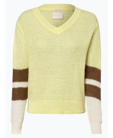 Damen Pullover mit Leinen- und Mohair-Anteil