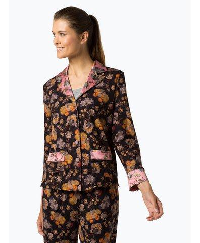 Damen Pyjamahemd mit Seiden-Anteil