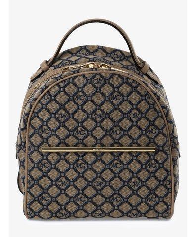 Damen Rucksack mit Leder-Anteil