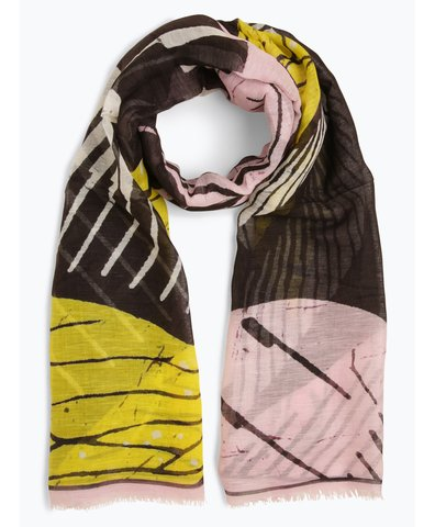Damen Schal mit Leinen- und Seiden-Anteil
