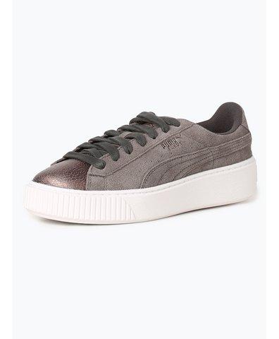 Damen Sneaker aus Leder - Platform LunaLux