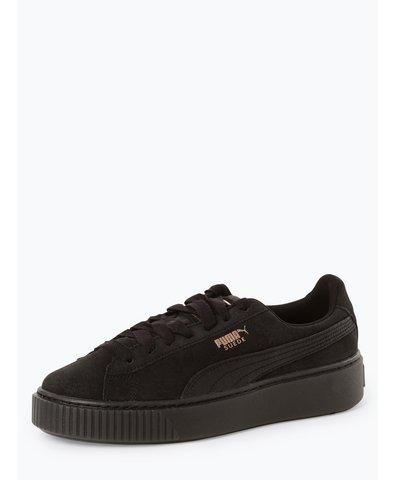 Damen Sneaker - Suede Platform Artica