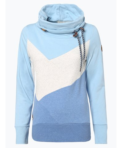 Damen Sweatshirt - Viola Block