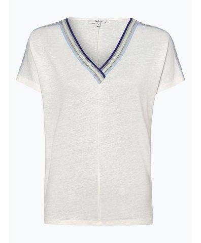 Damen T-Shirt mit Leinen-Anteil - Antonia