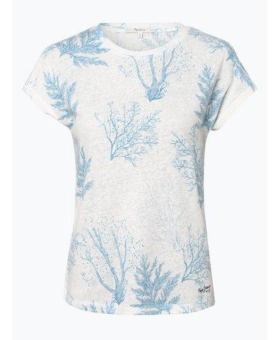 Damen T-Shirt mit Leinen-Anteil - Avril