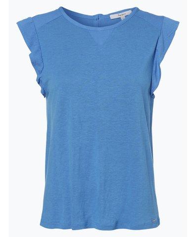Damen T-Shirt mit Leinen-Anteil - Clementine