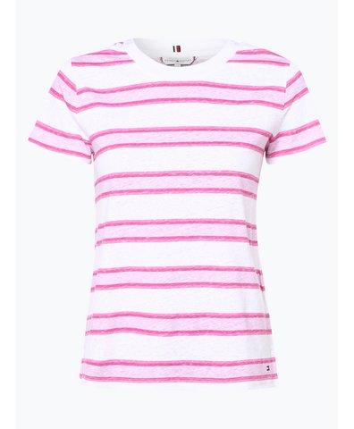 Damen T-Shirt mit Leinen-Anteil - Ellen