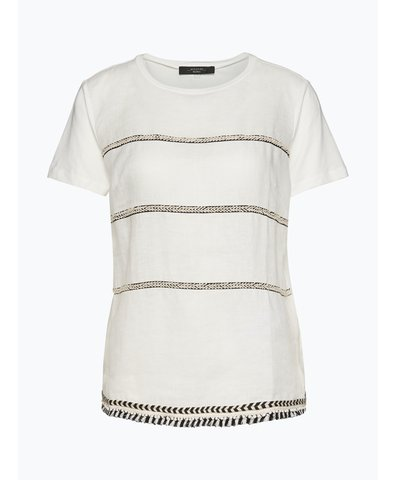 Damen T-Shirt mit Leinen-Anteil - Silla