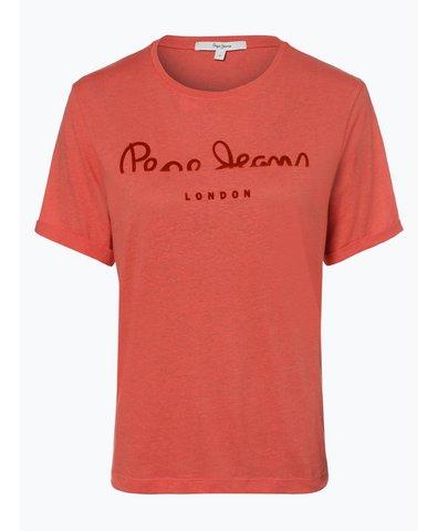 Damen T-Shirt mit Leinen-Anteil - Victoria