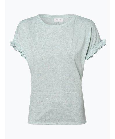 Damen T-Shirt mit Leinen-Anteil - Vihaldis
