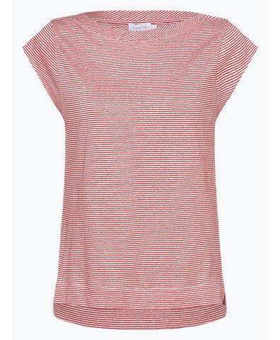 Damen T-Shirt mit Leinen-Anteil