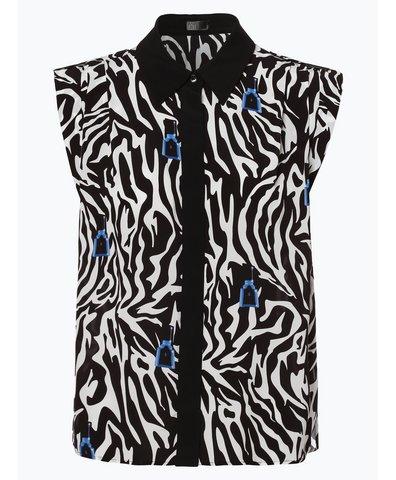 Damska bluzka bez rękawów z domieszką jedwabiu – Narella