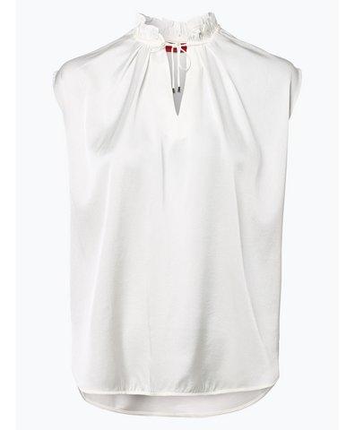 Damska bluzka bez rękawów z domieszką jedwabiu – Nisella