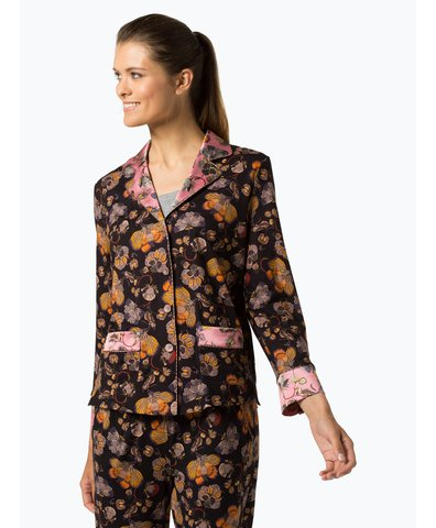 Damska koszula od piżamy z dodatkiem jedwabiu