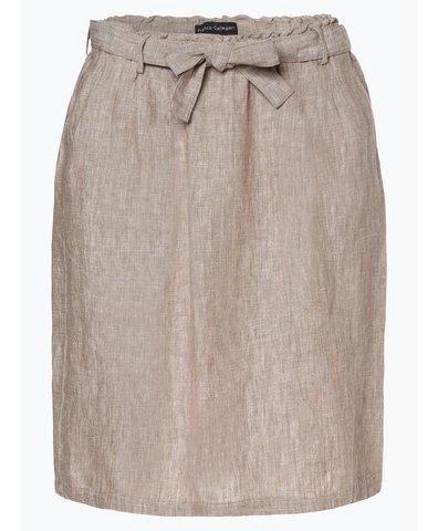 Damska spódnica lniana