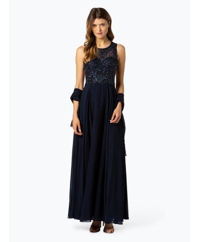 Damska sukienka wieczorowa z etolą