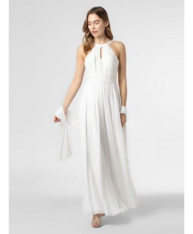 Damska suknia ślubna z etolą