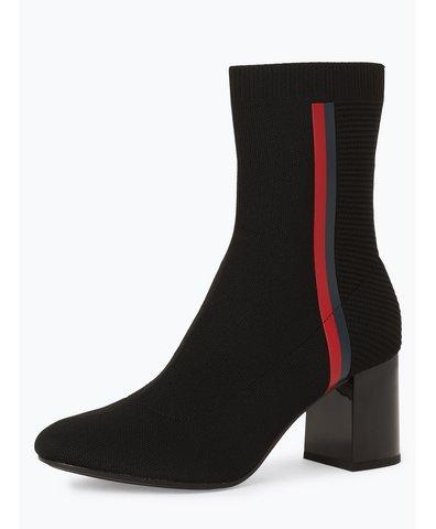 Damskie botki – Knitted Heeled Boot