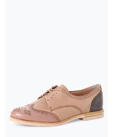Damskie buty sznurowane ze skóry