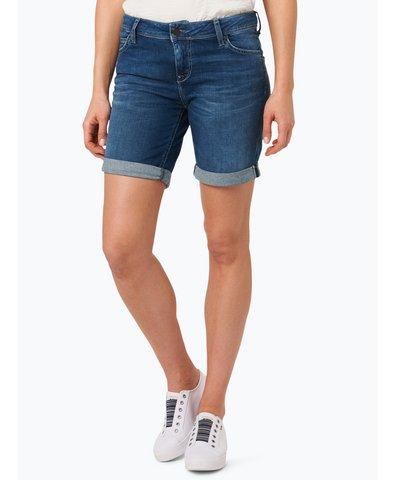 Damskie krótkie spodenki jeansowe – Bermuda