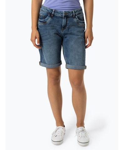 Damskie krótkie spodenki jeansowe – Smart Bermuda