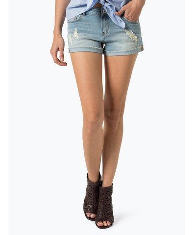 Damskie krótkie spodenki jeansowe
