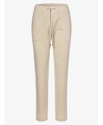 Damskie spodnie dresowe z dodatkiem lnu