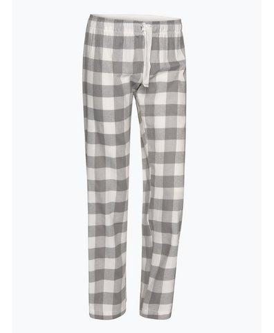 Damskie spodnie flanelowe