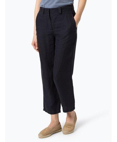 Damskie spodnie lniane