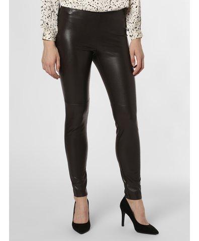 Damskie spodnie z imitacji skóry – Randa