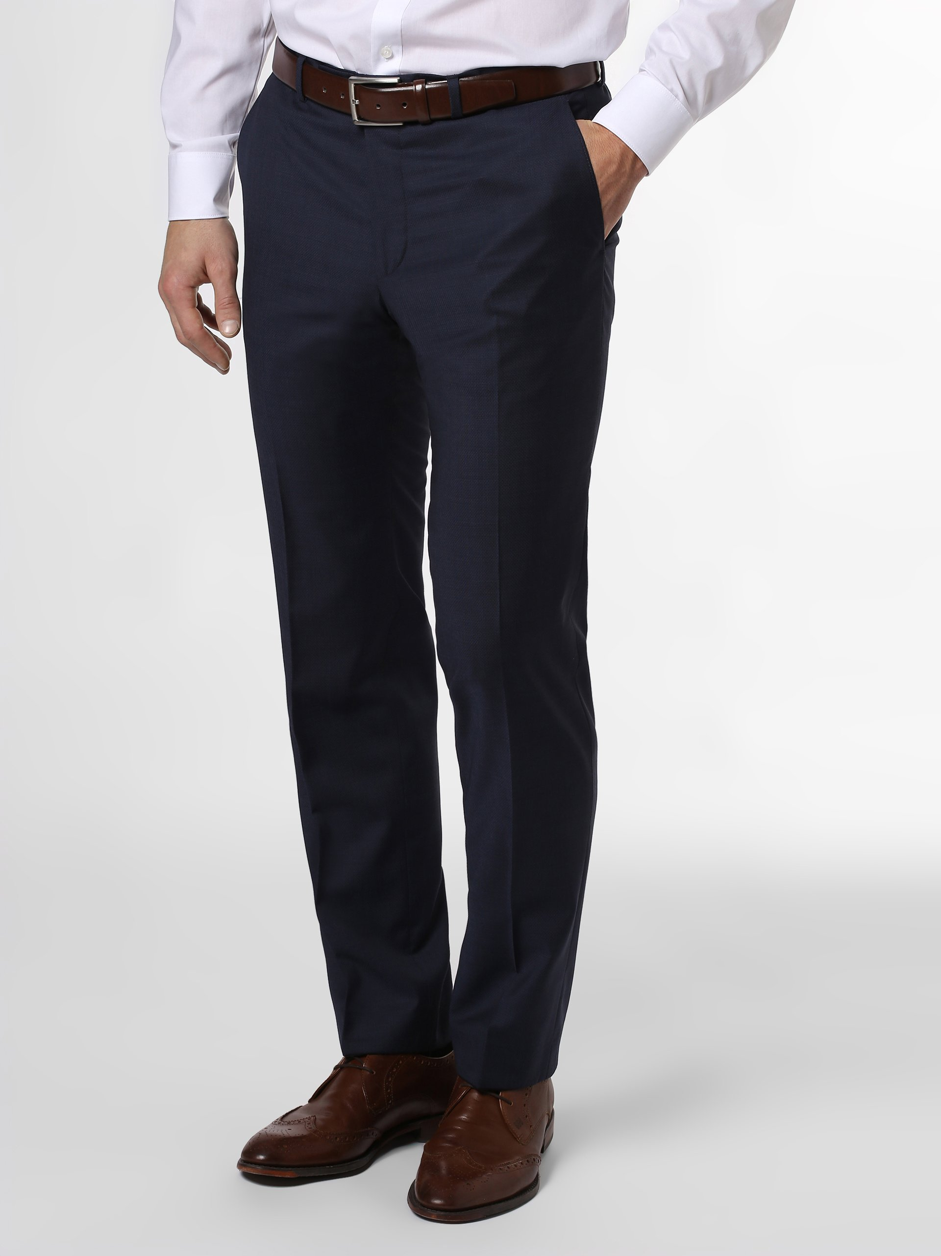 Daniel Hechter Męskie spodnie od garnituru modułowego