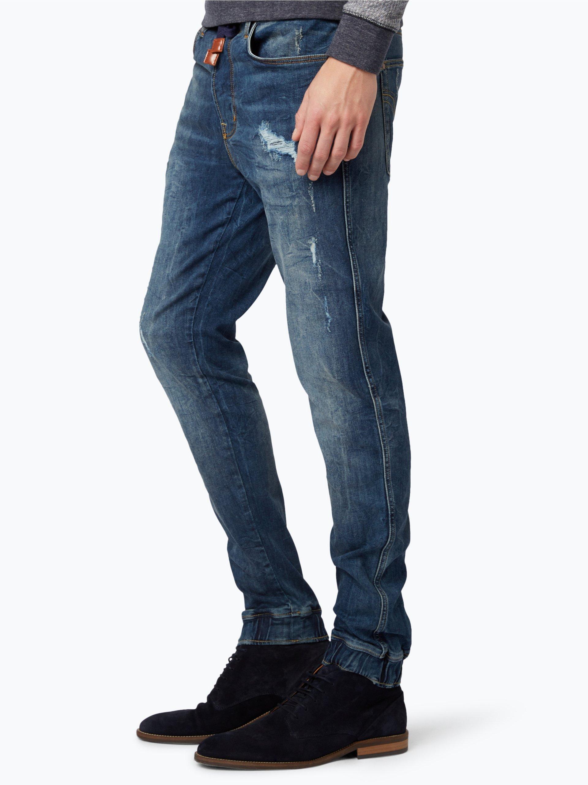 denim by nils sundstr m herren jeans blau uni online. Black Bedroom Furniture Sets. Home Design Ideas