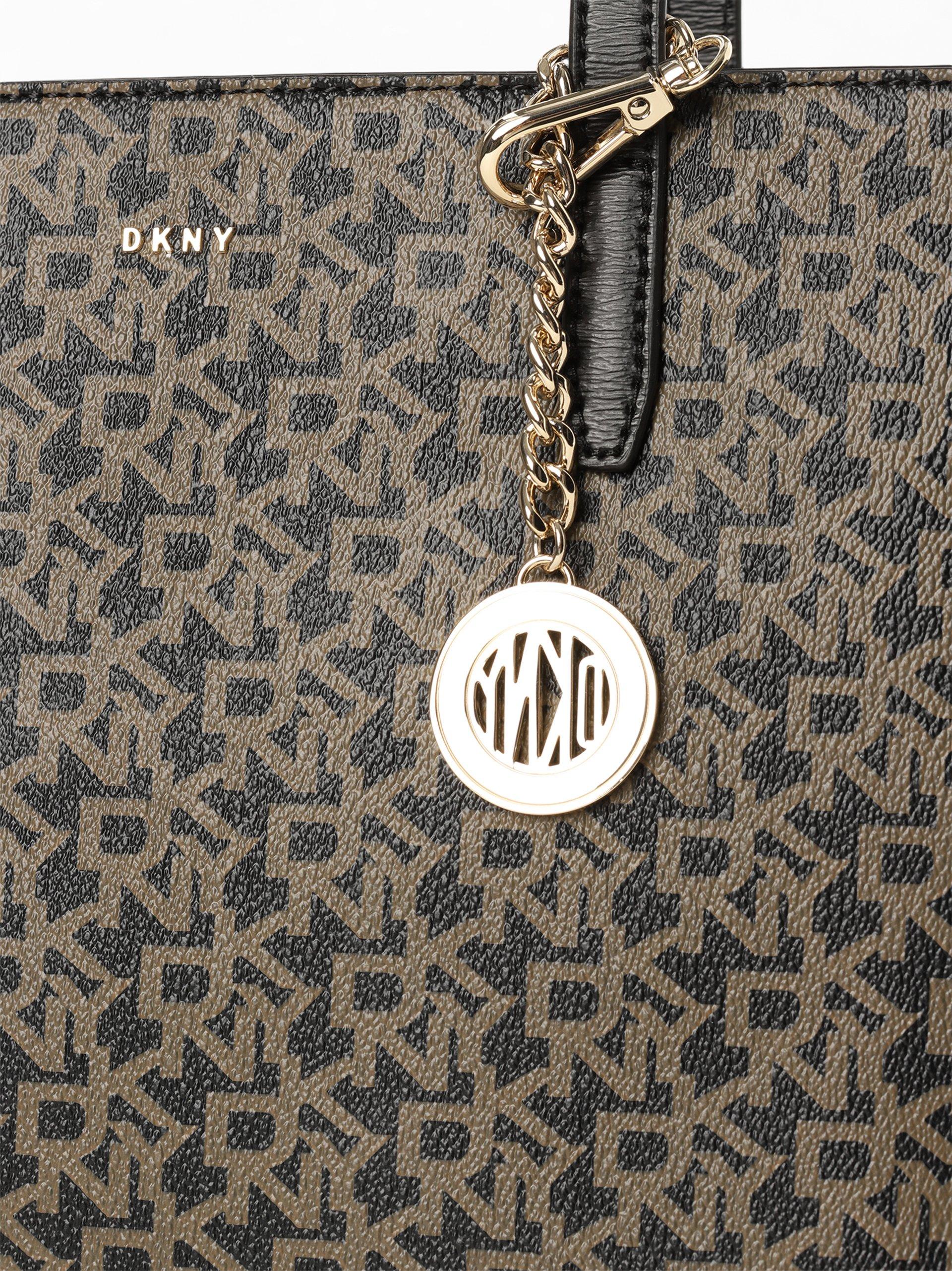 DKNY Damen Shopper mit Leder-Anteil - Bryant