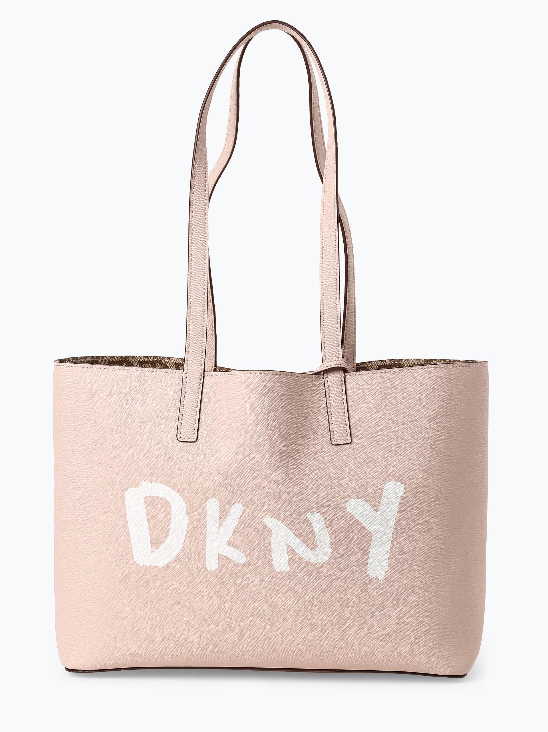 DKNY Damska dwustronna torba shopper – Pebbl