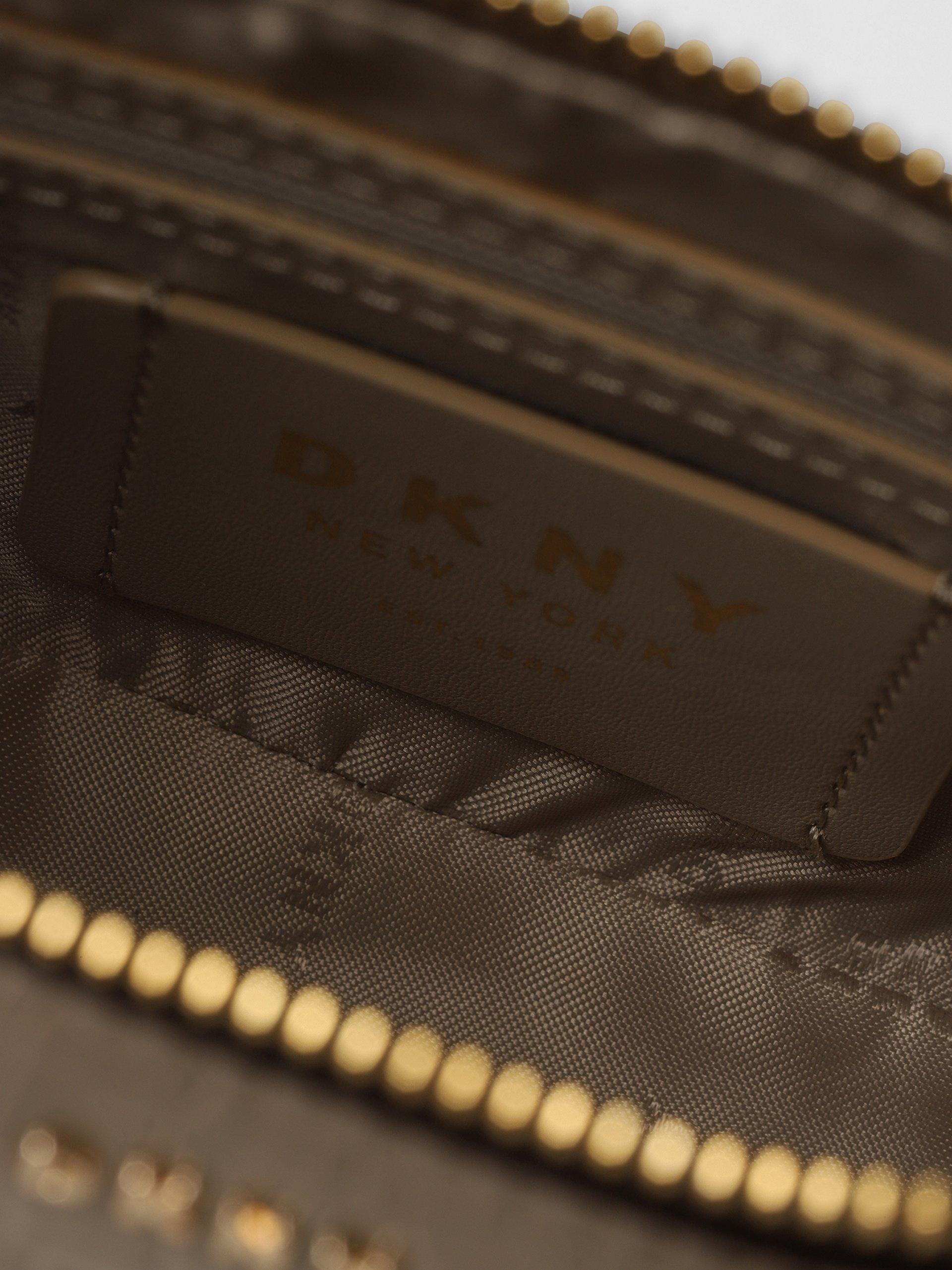 DKNY Damska torba na ramię ze skóry