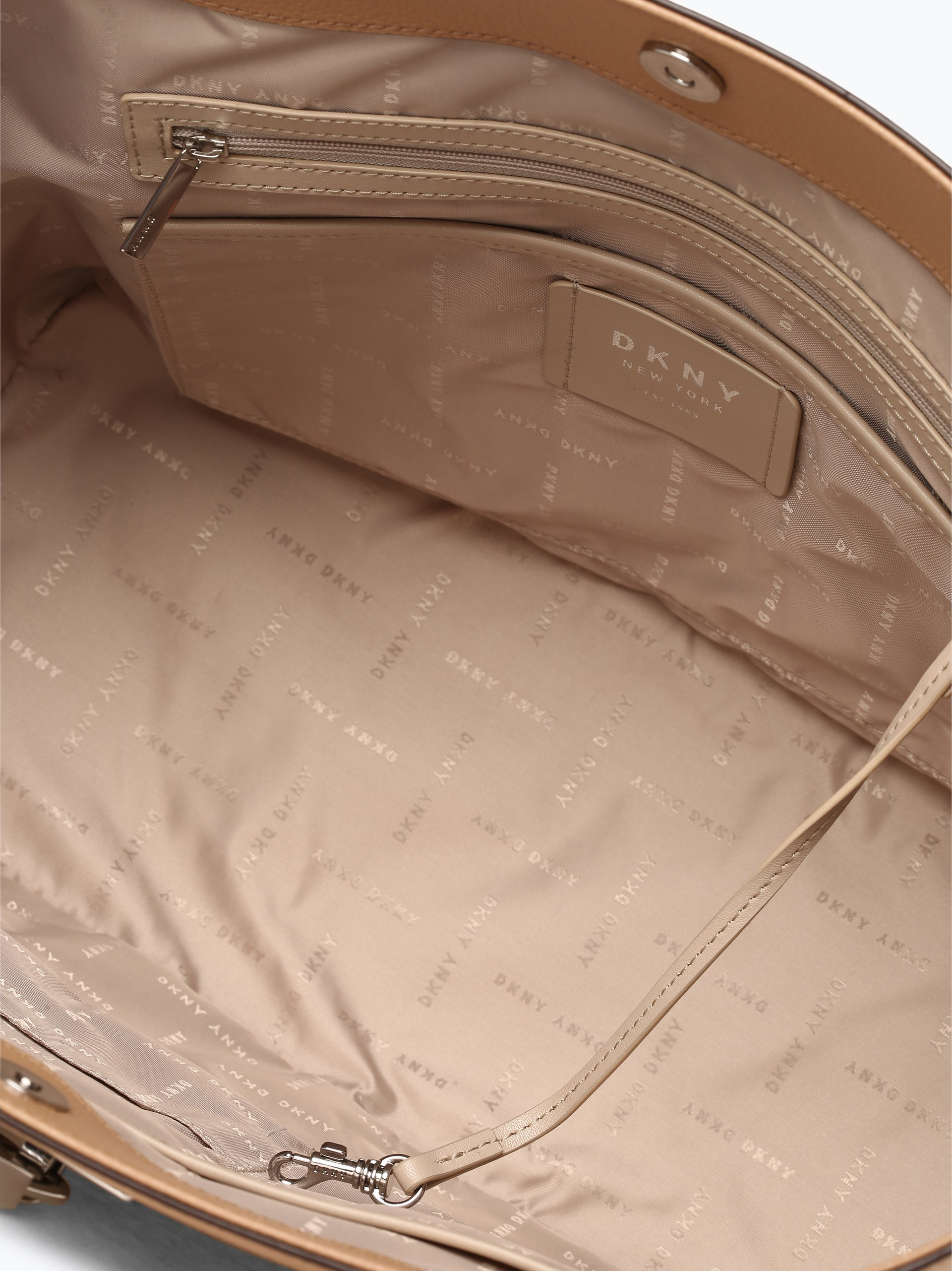 DKNY Damska torba shopper ze skóry – Elissa